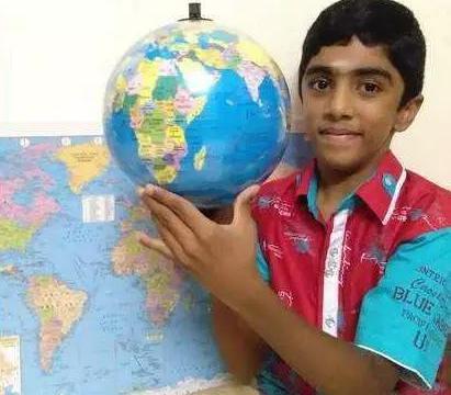 印度9岁男孩熟记全球所有国家地理位置和国旗,被当地人称为神童