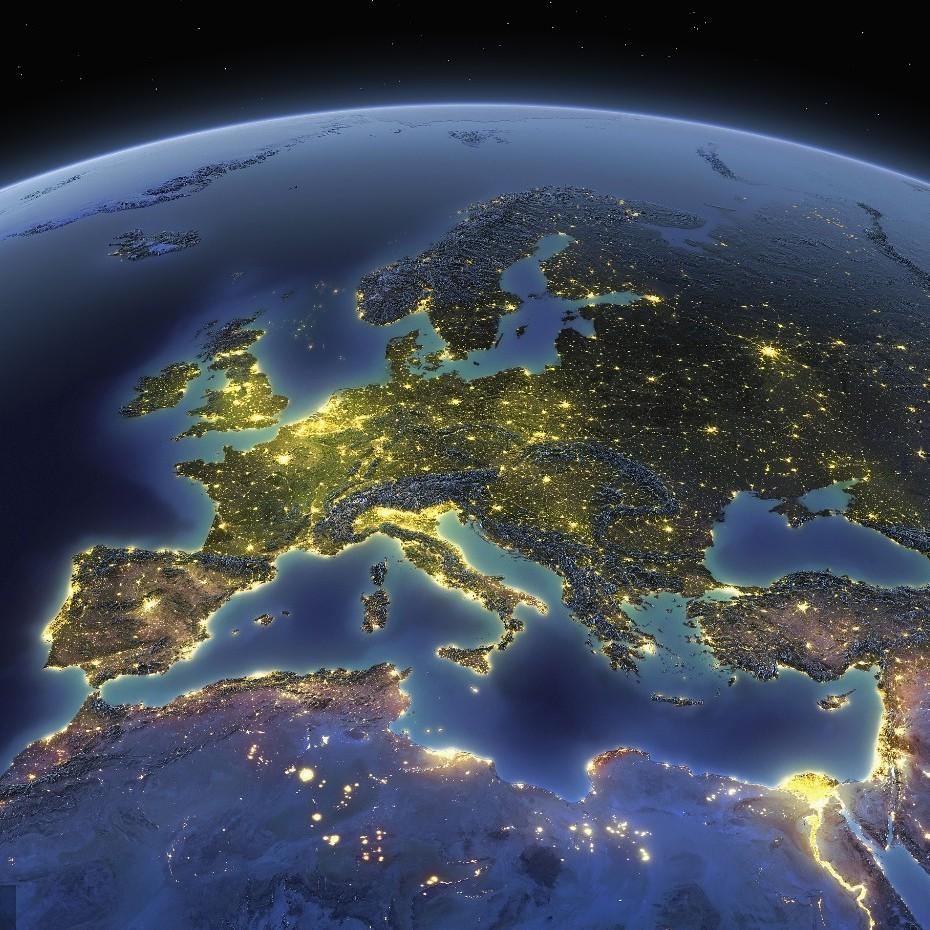 """欧洲下面隐藏着""""消失的大陆""""?"""