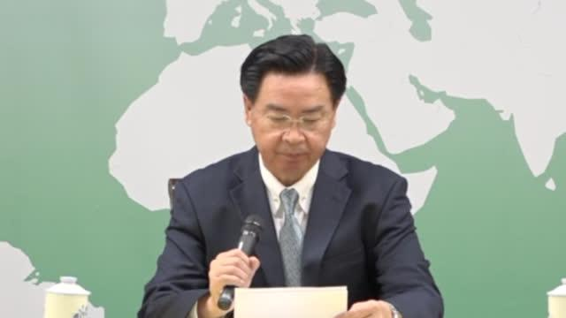 """视频:台""""外事部门""""负责人回应所罗门群岛与台湾""""断交"""""""
