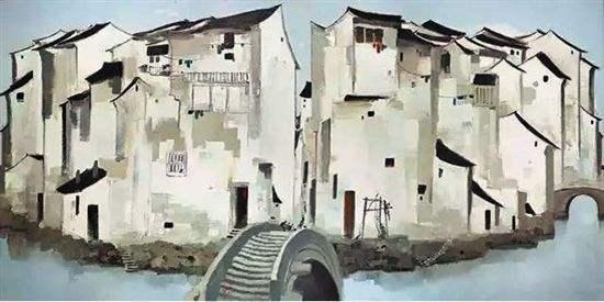 吴冠中:山水画要敢于背叛艺术,更要保留绘画界的骨风和文人情怀