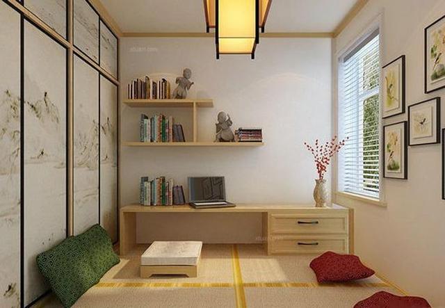 8款日式书房榻榻米装修效果图,1-8号,哪个最接近你的理想房间