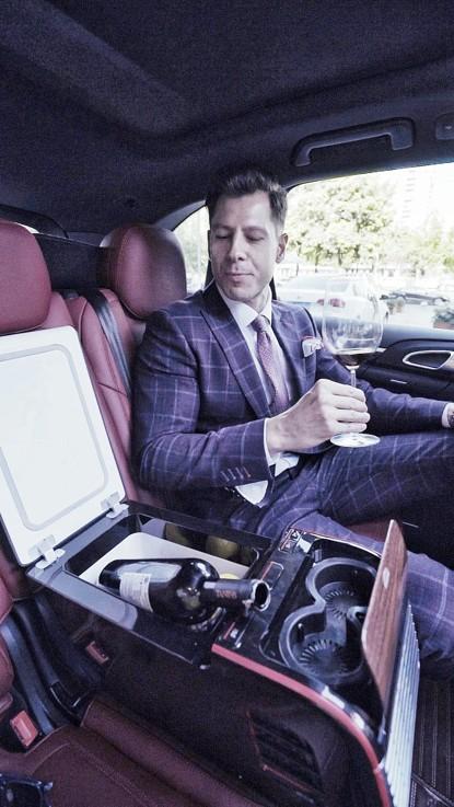 匈牙利贵族都在用,汽车载冰箱在全球时尚圈悄然流行