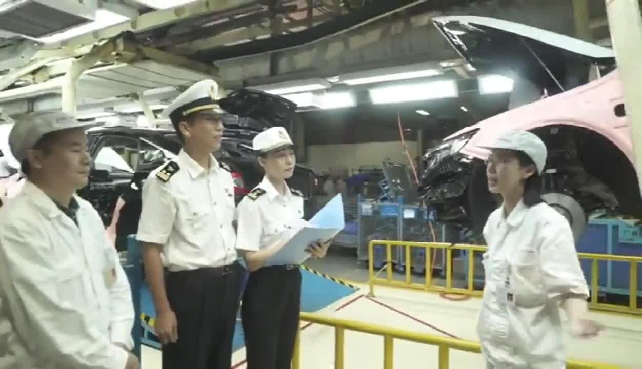 航拍海关之新港海关