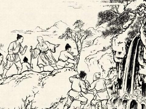襄阳传说:白胡子老头擒龙编草绳,老龙堤上老龙庙