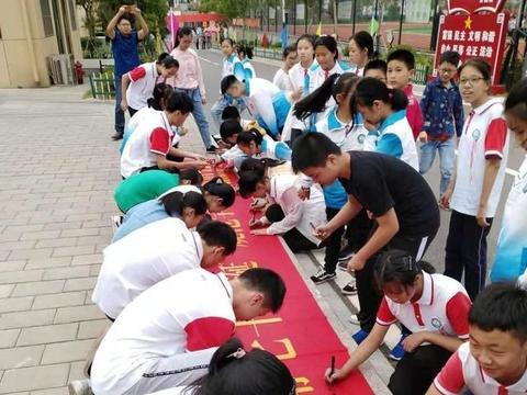 六安一中金安路实验学校精彩活动深入推广普通话宣传周