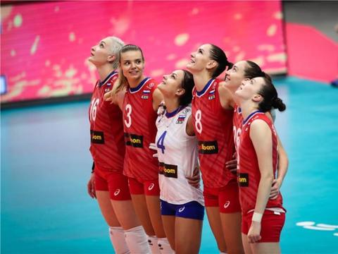 冈察洛娃31分 俄罗斯女排3:2日本女排 2019女排世界杯