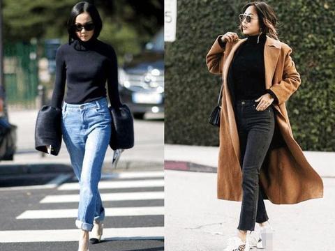 上半身肥胖的女人别乱穿!这3种毛衣显瘦又时髦,内搭外穿都好看