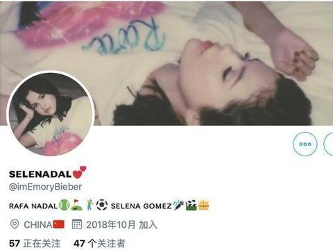 比伯社交网站关注赛琳娜相关 粉丝解释不是本人