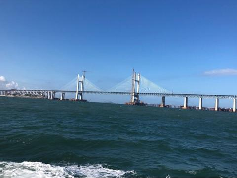 造桥禁区建成的世界第一桥:平潭海峡公铁两用大桥合龙在即