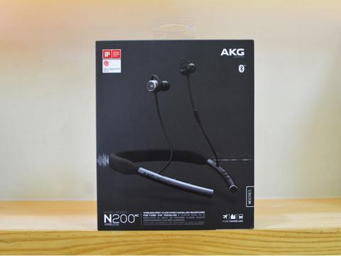 主动降噪,高解析音质,AKG新品入耳式无线蓝牙耳机开箱评测