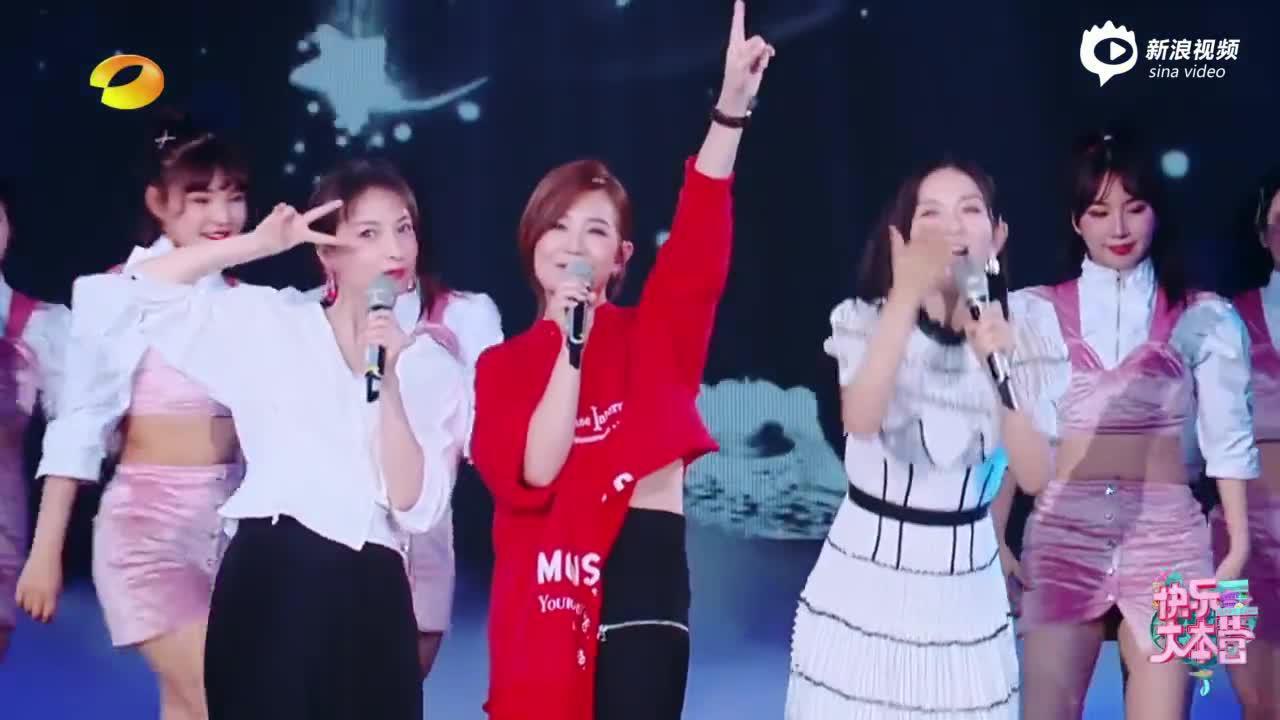 视频:梁静茹与快乐家族表演经典歌曲串烧