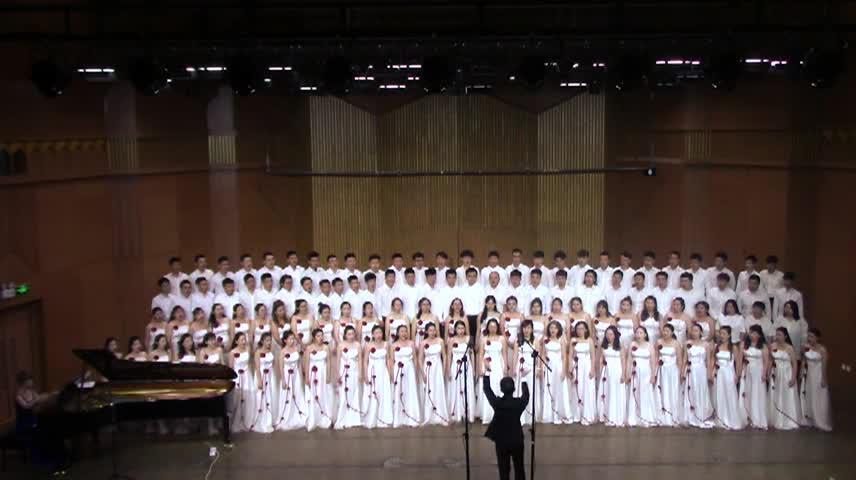 文艺演出:新疆师范大学音乐学院《把一切献给党》
