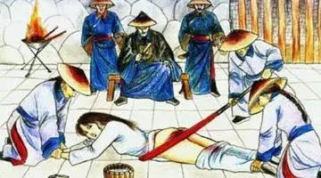 古代凌辱女囚的潜规则,惨不忍睹!