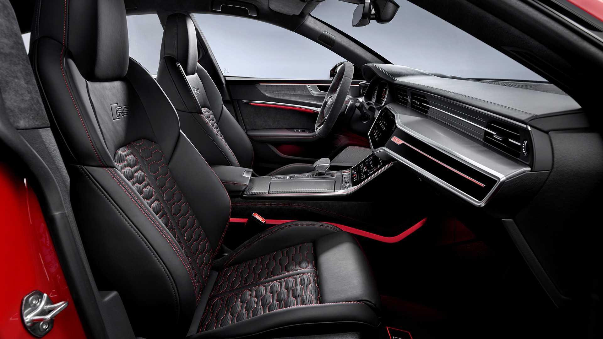 V8发动机配合48V轻混 全新一代奥迪RS 7 Sportback官图正式发布