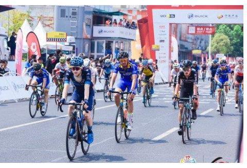 迎风冲刺,2019环中国自行车赛第一阶段收官