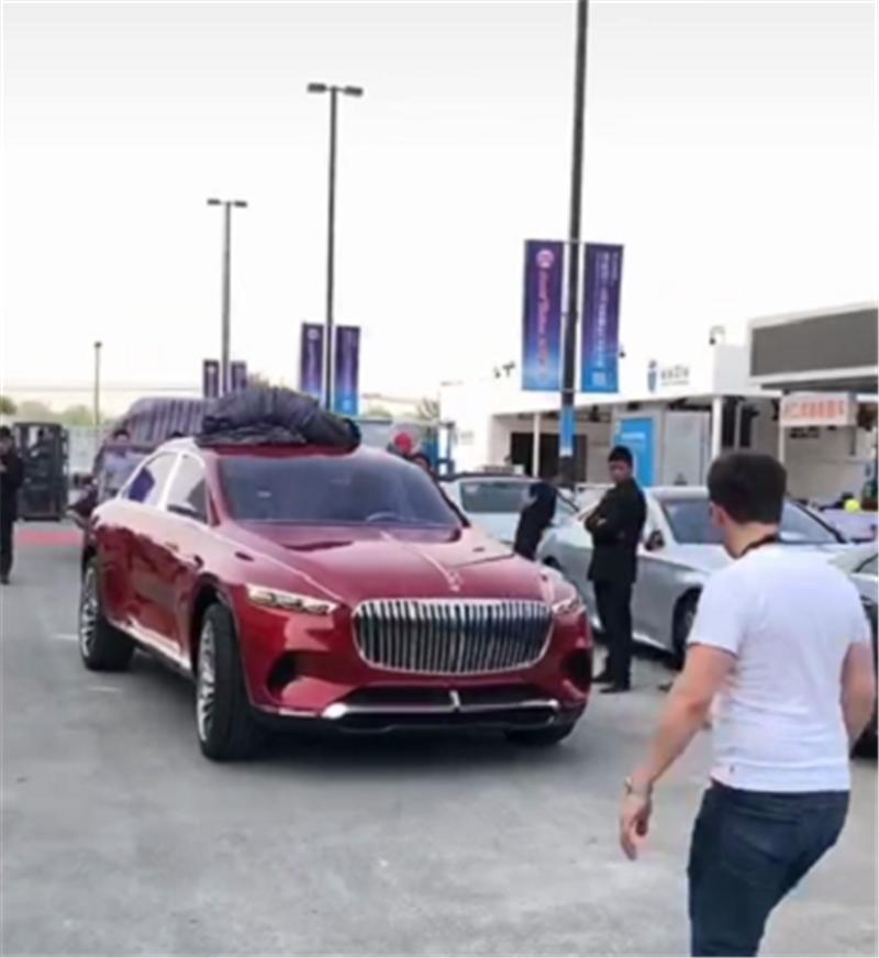 第一台迈巴赫SUV上路,配闭缸技术、轻混系统,直指库里南