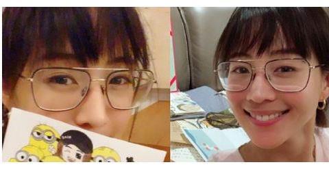张钧甯齐眉短刘海自拍照曝光,网友:把你漂亮的额头露出来