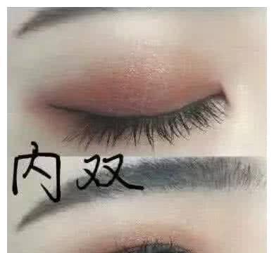 内双化妆:选择细眼线,单眼皮:粗点眼线,看到肿眼泡:我太难了