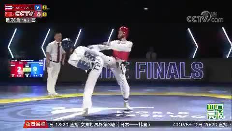 [跆拳道]吴静钰千叶大奖赛夺银获24个奥运积分