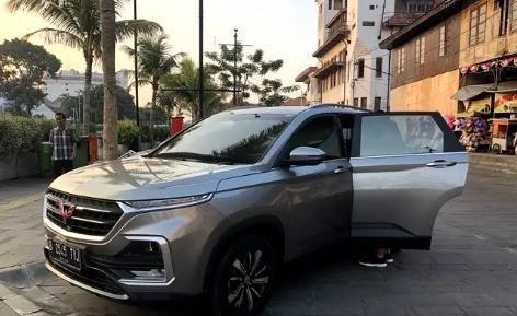 国际版五菱汽车,与本田CRV同级别,自豪感油然而生