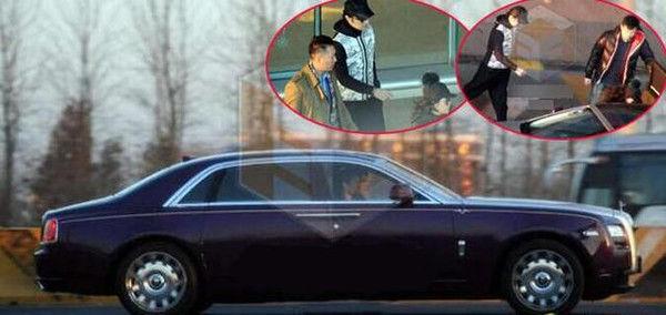 汪峰开600万劳斯莱斯,看完章子怡的车后,家庭地位一目了然