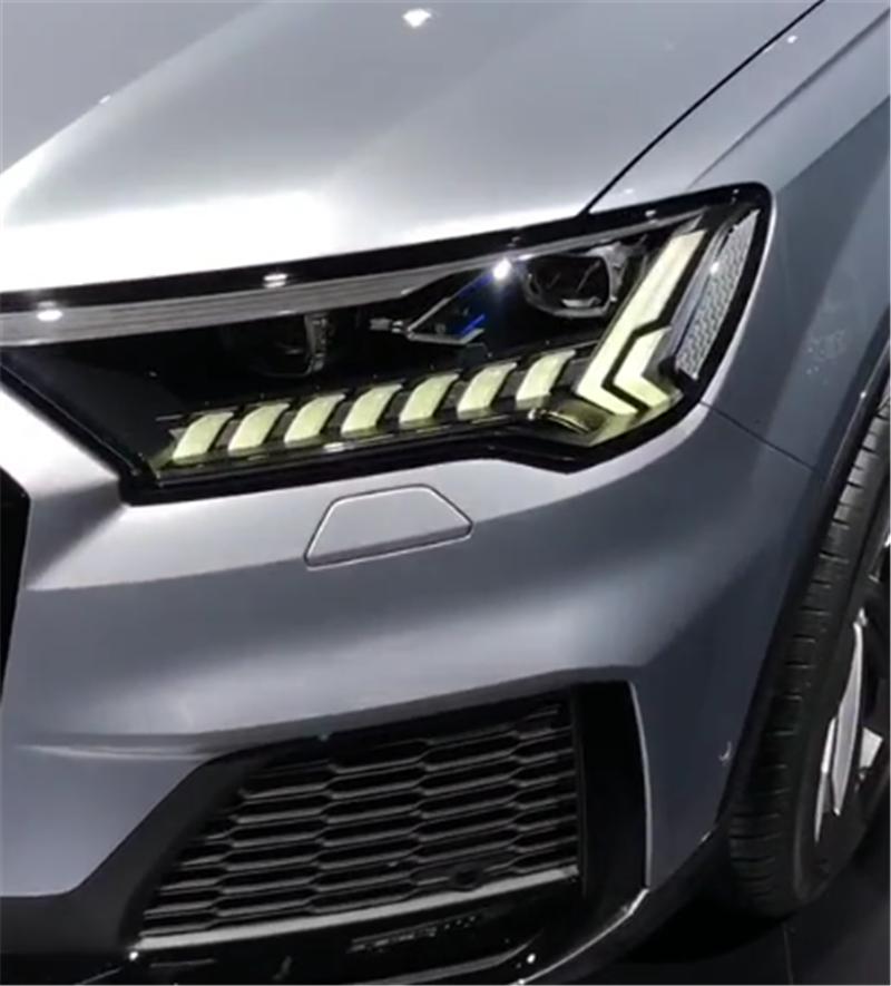 全新Q7亮相,中期改款,配A8同款尾灯、48V电机,内饰显科技感