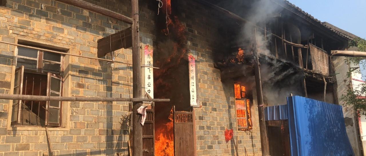 南昌80岁老人做饭把房顶烧塌 厨房这5个点一定要注意