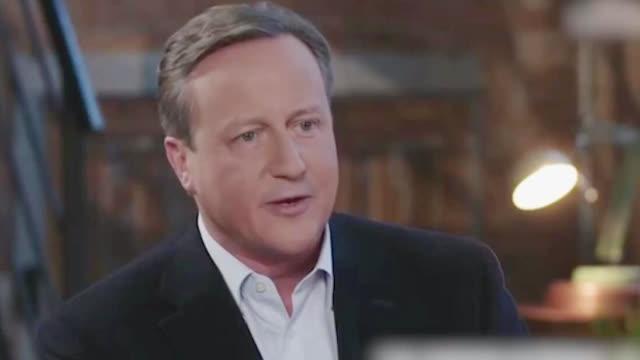 视频-卡梅伦承认后悔举行脱欧公投:我有责任