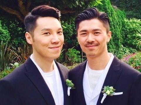 与同性伴侣结婚三周年!49岁前TVB男星:期待我的皱纹和你的白发