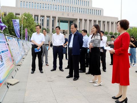 信阳市2019年网络安全宣传周活动在信阳农林学院启动