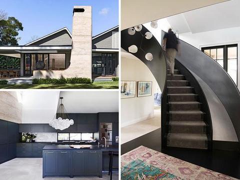 1910年老房翻新改造,楼梯带滑梯设计还是第一次见,装修低调沉稳