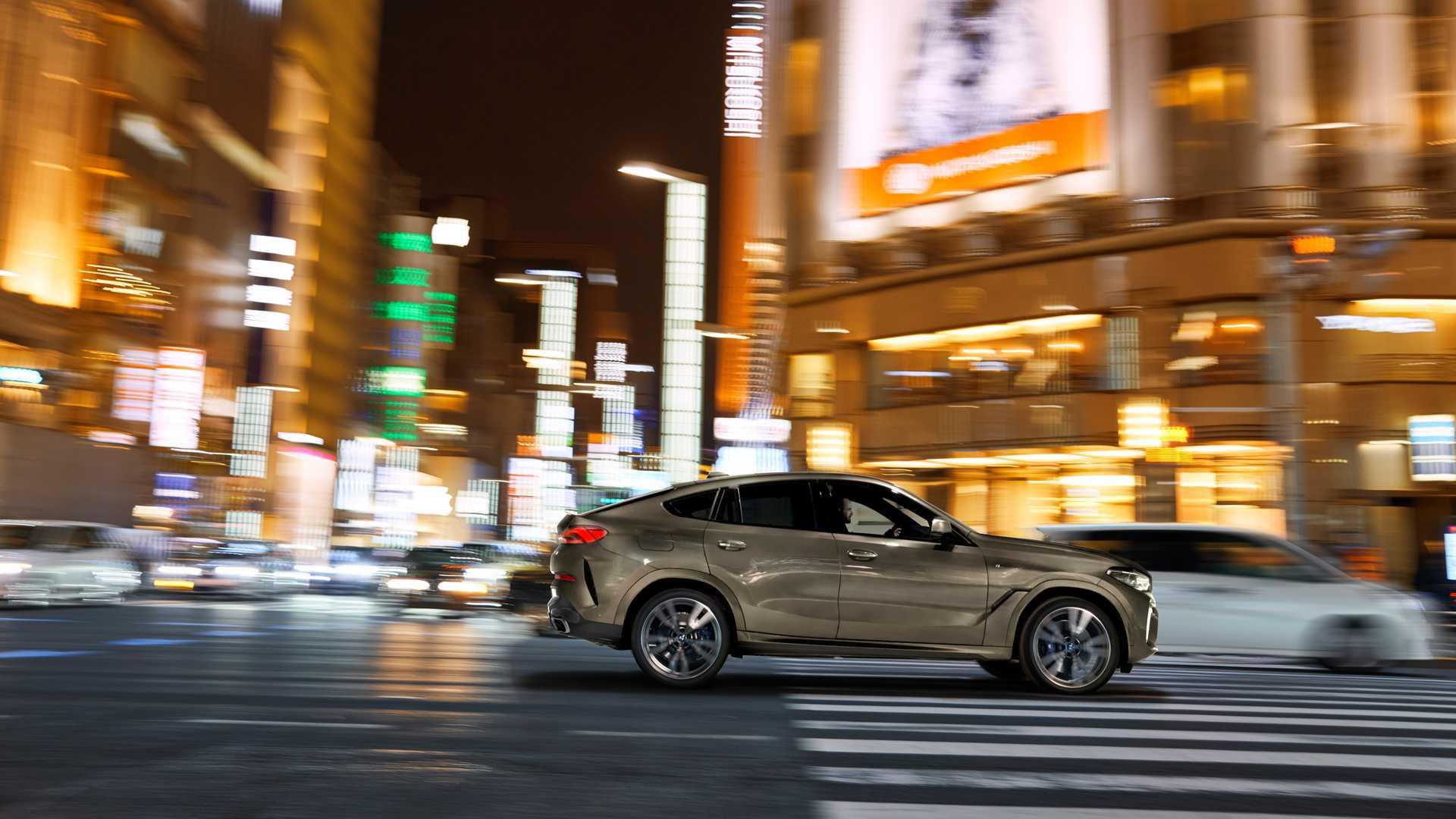 外观/内饰/动力均升级 全新宝马X6正式亮相法兰克福车展