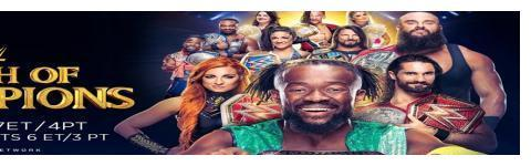 WWE《冠军冲击》最新战报,全程比赛结果!