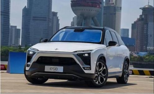 新能源车型的新势力蔚来ES8 堪称不靠颜值靠品质打天下的车型