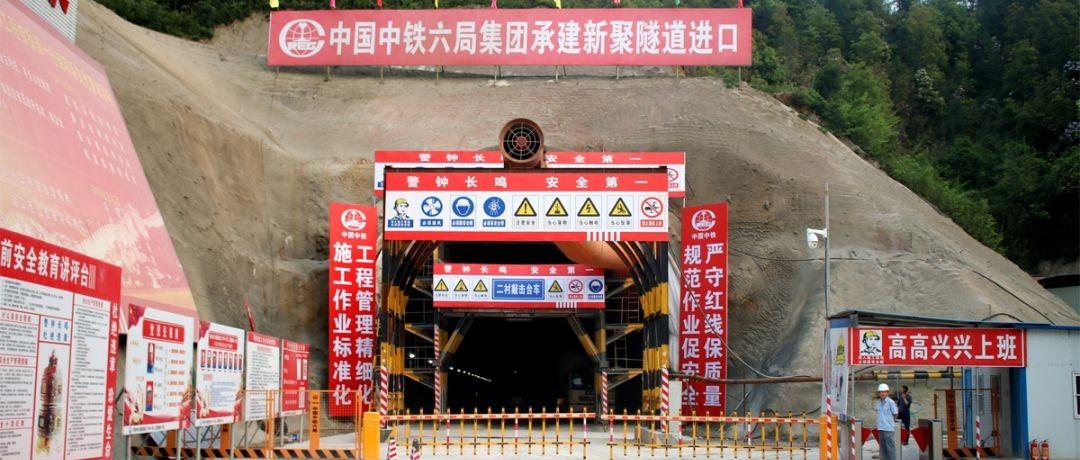 赣深高铁最新进度:河源段3标段已贯通隧道7座