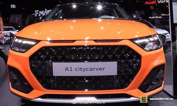 视频:2020奥迪A1 Citycarver亮相2019法兰克福车展