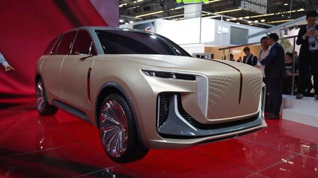 法兰克福车展上的国产身影 概念车型怒刷存在感