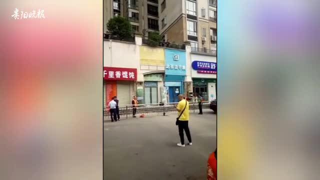 视频-贵阳一女子抱孩子跳楼身亡?医生:现场仅女子一人