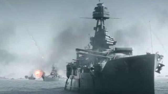 美军舰艇发起饱和式炮击,硫磺岛战役登陆战即将开始