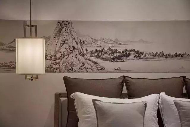 新中式合院别墅,影射隐世哲学态度,不问世事兴衰,只求寄情山水