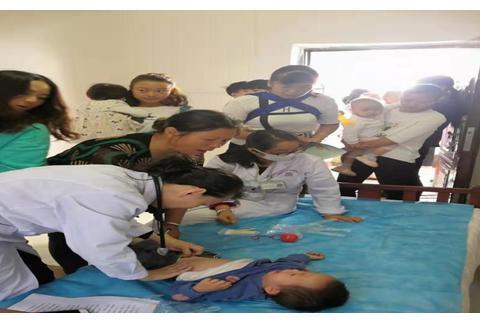 昆明经开区洛羊卫生院走进幼儿园开展健康体检活动