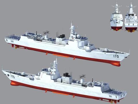 052C驱逐舰:高性价比舰艇的代表,单价仅3.6亿美元