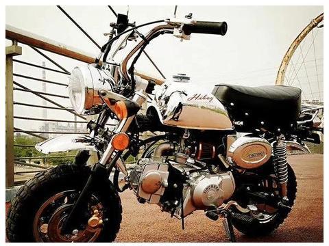 可放汽车后备箱,可长途摩旅,5000多元小摩托,重仅65kg