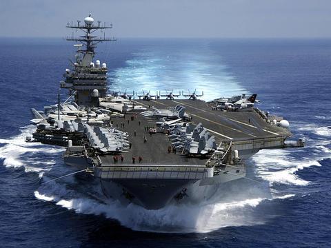 11艘核动力航母,只有6艘可用!美军全球局势控制力在下降?