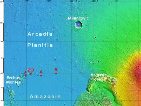 SpaceX 开始选择星际飞船火星登陆地点