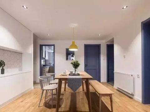 110㎡三居室简约风,家具的选择和配色都很值得同类业主参考!