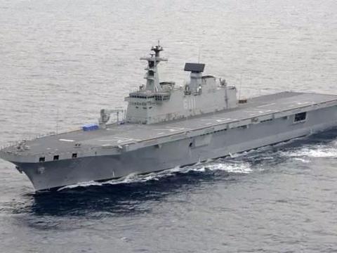 韩国准航母建造,为了叫板中日海军,口气倒是不小