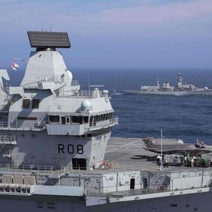 护卫舰这么大,比中国驱逐舰还大!英国以为这样就能扭转局面