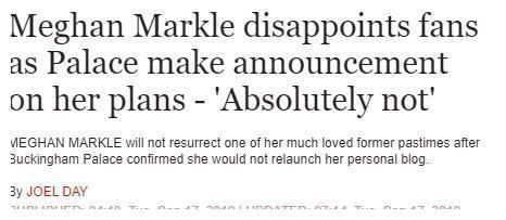 梅根可能要再次让她的粉丝们失望了:当梅根的粉丝真心不容易