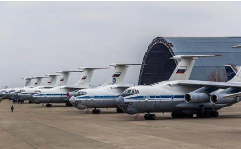 俄国的骄傲伊尔-76,拥多款特种改进型,产量居200吨级运输机榜首